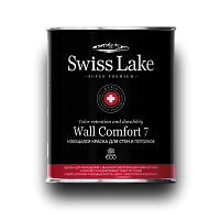 C09WC7 Краска инт. Swiss Lake Wall Comfort 7 База C 0,9 л.
